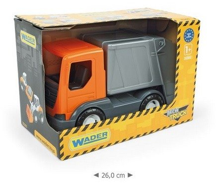 ... WADER 35360 ŚMIECIARKA + kontener Tech Truck ...