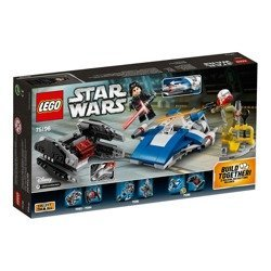 75196 Lego Star Wars A-Wing Kontra Tie Silenc