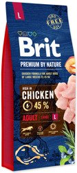Brit by Nature Adult Large 15kg