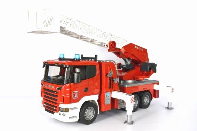 Aktualne Bruder 03590 Scania wóz strażacki Duży | Dla dziecka \ Zabawki dla EE71