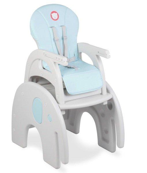 Lionelo Eli Blue Krzesełko Do Karmienia 5w1 Niebieski Dla Dziecka